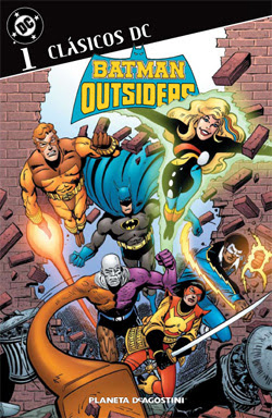 Clásicos DC: Batman y los Outsiders - Mike W. Barr y Jim Aparo