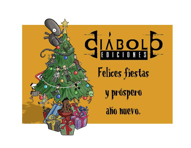 Felicitación de Navidad - Diábolo Ediciones