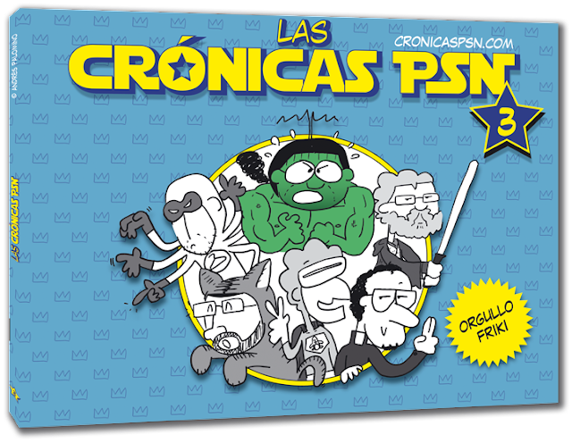 Las crónicas PSN vol. 3 - Orgullo friki - Andrés Palomino BLIP