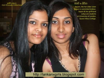 Sri lankan couple girls