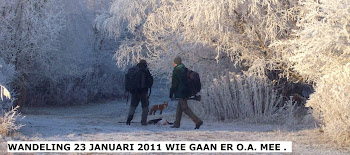 WINTER WANDELING 23 JANUARI 2011