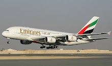 AIR BUS A-380 FLY EMIRANTES