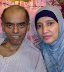 my late father & my mom
