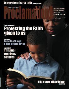 Proclamation magazine