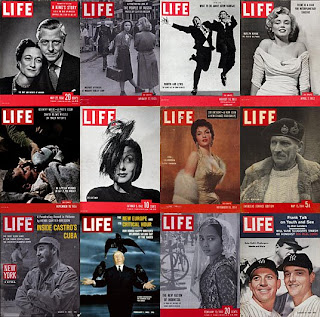 capas Revista LIFE - LIFE Magazine covers