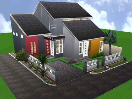 informasi type bangunan rumah tinggal konsep bangunan rumah minimalis ...
