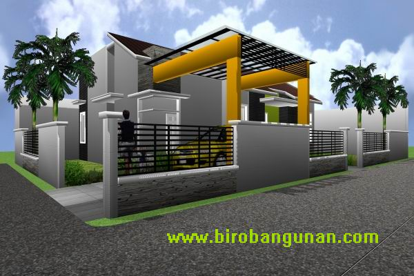Galeri inspirasi Desain Rumah 2 Lantai Luas Tanah 100m2 yg apik