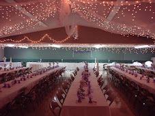 Wedding Reception with Lights