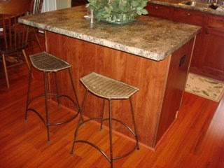 A Beadboard Kitchen Island From Thrifty Decor Chick