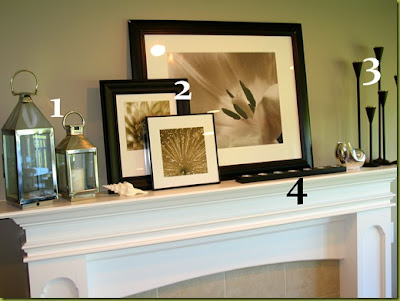 How To Decorate A Fireplace Mantel Captivating With How to Decorate Your Mantel Picture