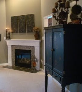 DECORATING FIREPLACE MANTELS - NORTH SHORE LOG COMPANY