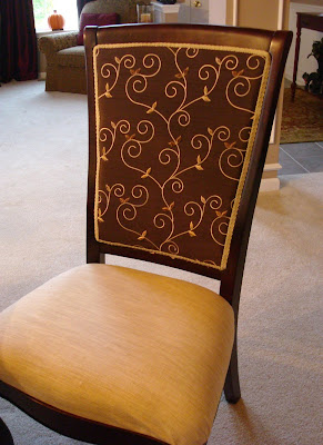 How To Reupholster Dining Room Chairs From Thrifty Decor Chick