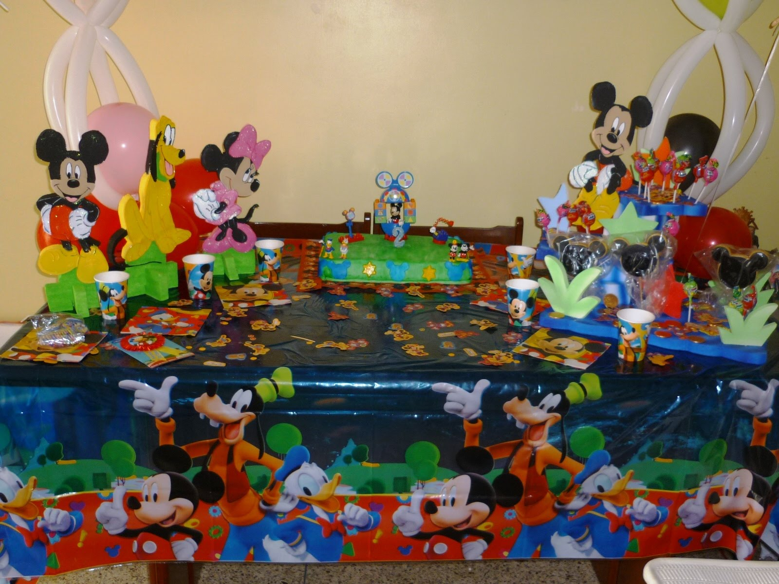 mickey mouse decoraciones para fiestas