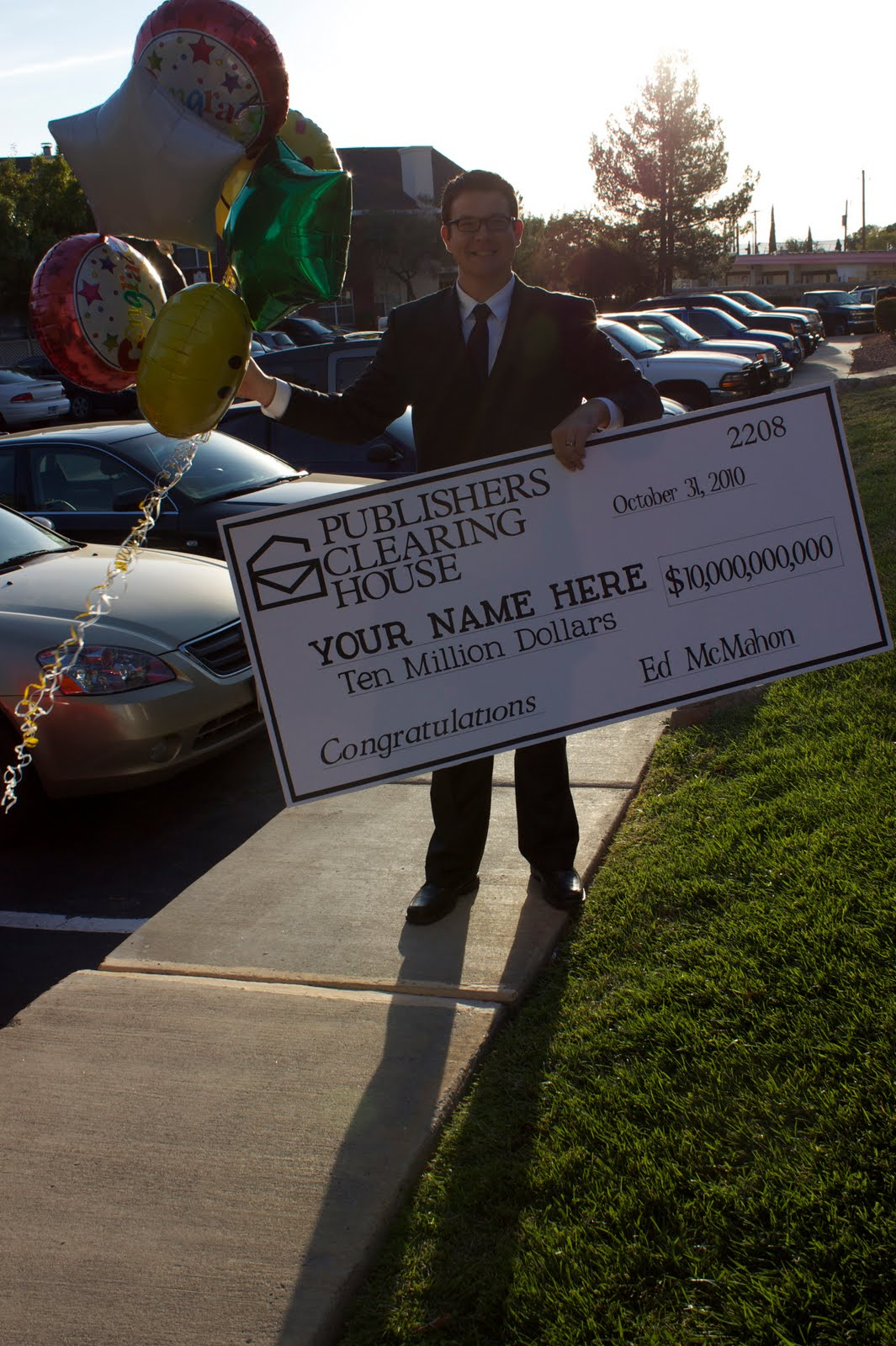 Ed McMahon Publishers Clearing House Check
