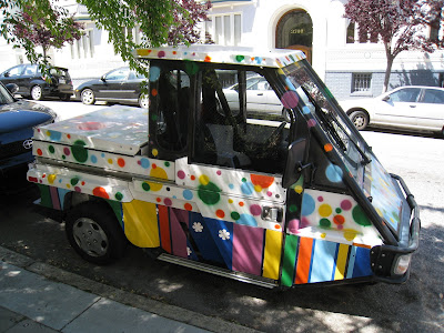Meter Maid Vehicle