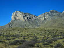 El Capitan and Guadelupe Peak, Guadelupe Mountains National Park, Texas