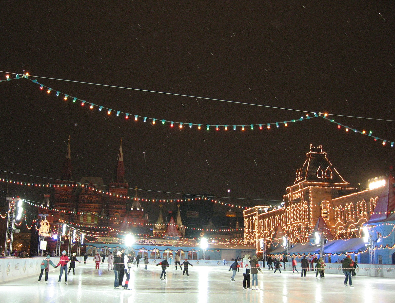 Red Square in the Winter