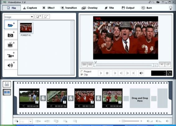 Honestech Video Editor 7.0