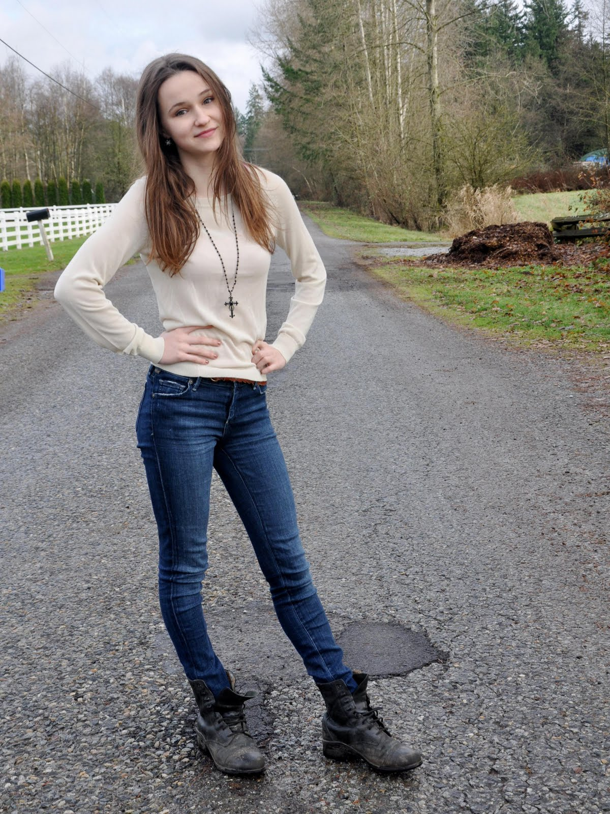 tight teen jeans Young