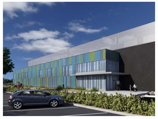 Nortia research equinix sv5 data center for Exterior research and design