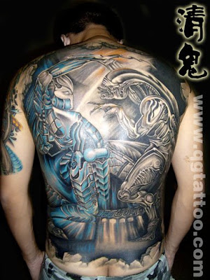 Full Back Tattoos Wings. Full back tattoo designs