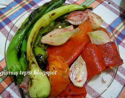 mangalda pişmiş sebze