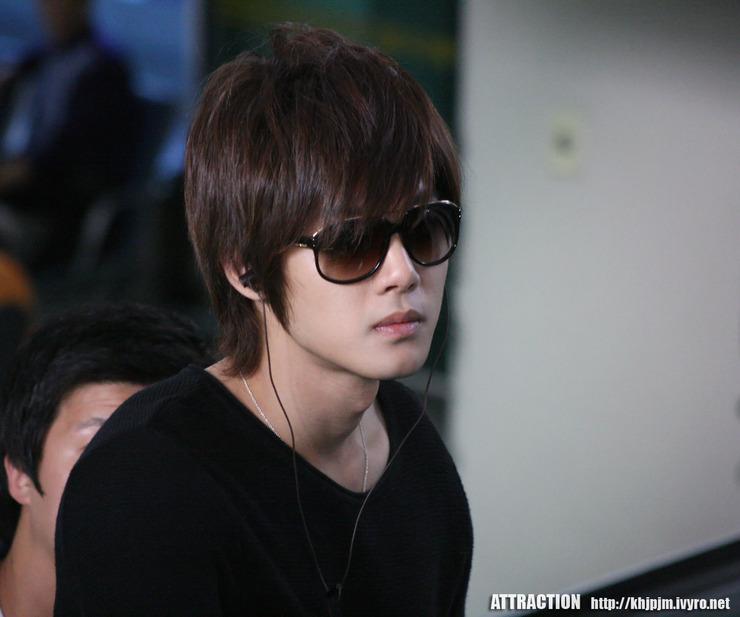 Kim Hyun Joong Off To Jeju Island