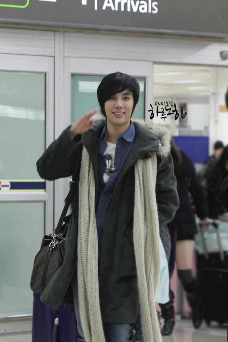 Jung Min De nuevo en Seúl en la víspera de Navidad 2