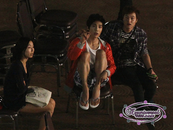Jung Min @ SBS Año Nuevo Lunar Especial de rodaje en Tailandia 6