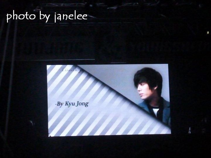 Kyu Jong & Young Saeng's  mensaje de agradecimiento 43