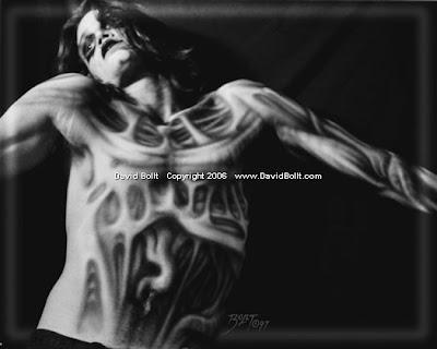 ilustraciones de tatuajes. ilustraciones son una atracción principal en convenciones de tatuaje.
