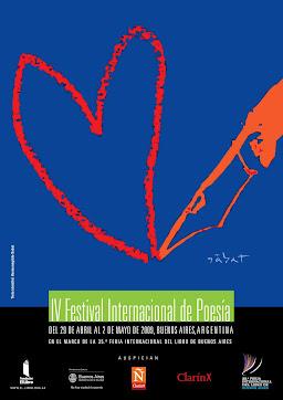 Afiche del IV Festival con ilustración del querido Sábat