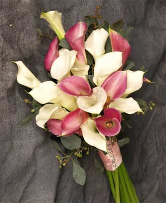 lilies wedding bouquet. Calla Lily Bridal Bouquet