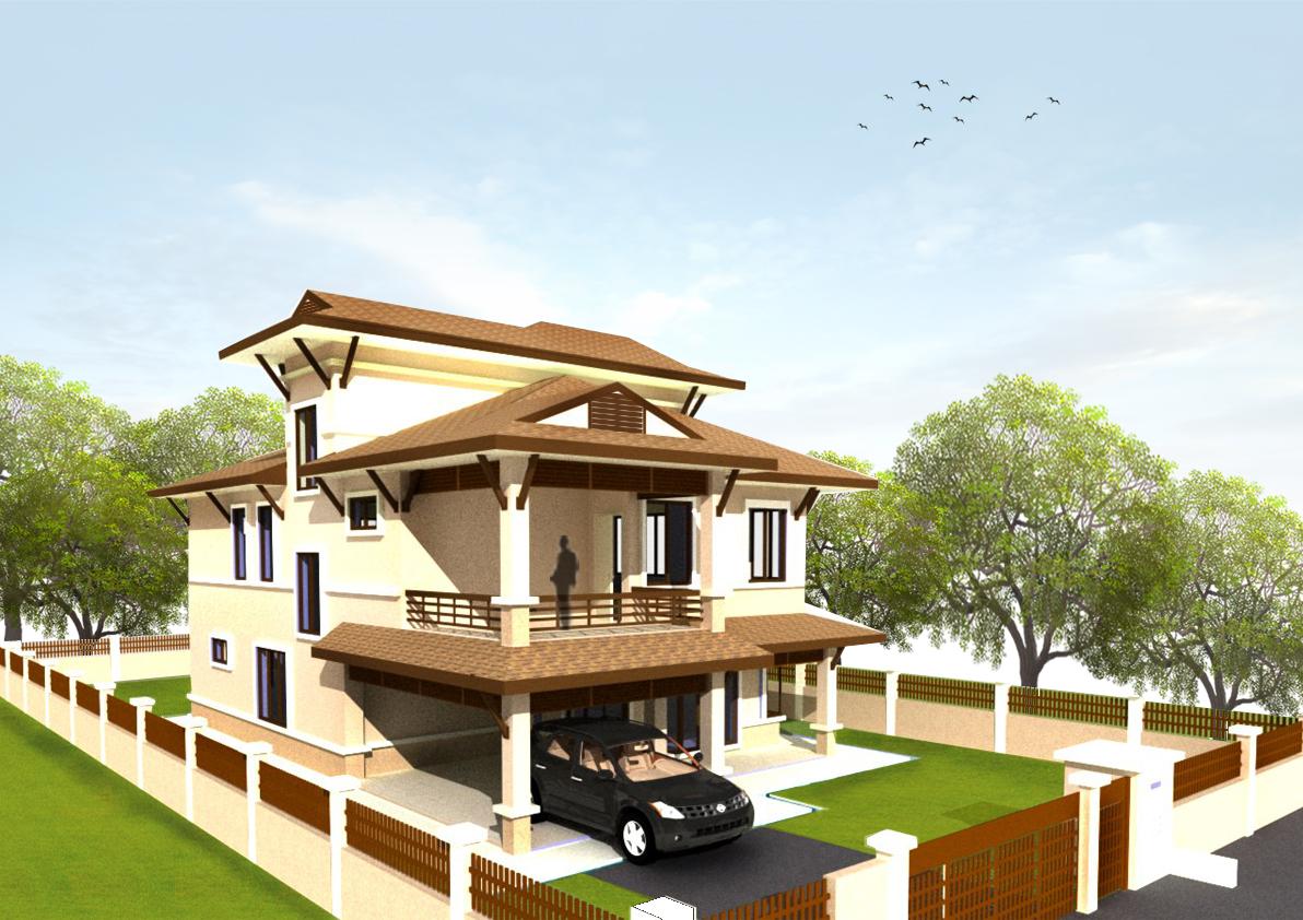 tokjanggutphoto bungalow design. Black Bedroom Furniture Sets. Home Design Ideas