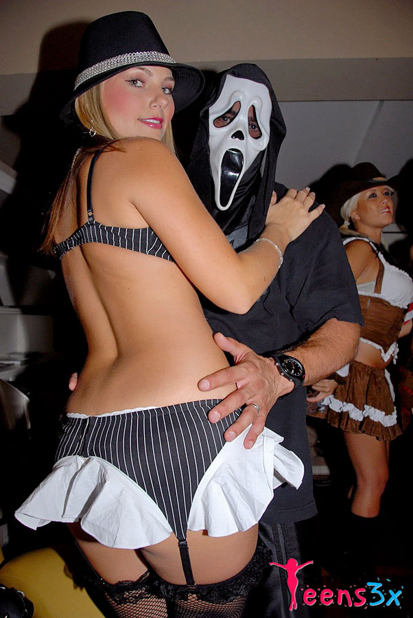 halloween party sex