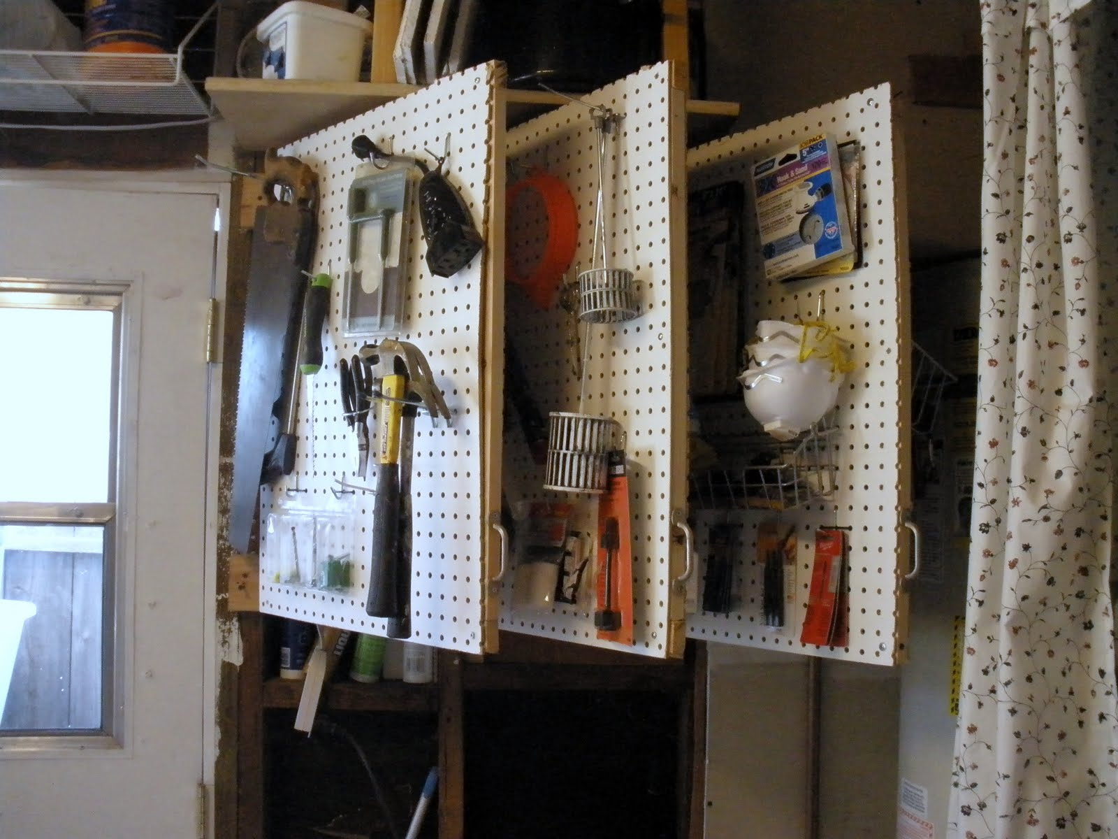 Pregnant with power tools the workshop pegboard book - Small workshop storage ideas ...