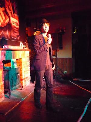 Poet Danny Chivers at OxFringe 2009