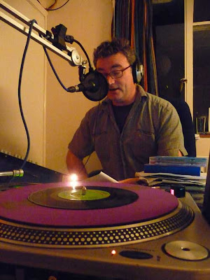 Oliver's Gozzard Timewarp show on Rocket FM in Lewes 2009