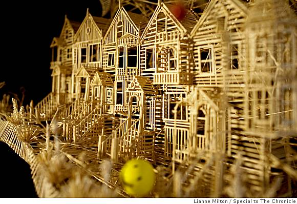 Mighty Lists 15 Incredible Toothpick Sculptures