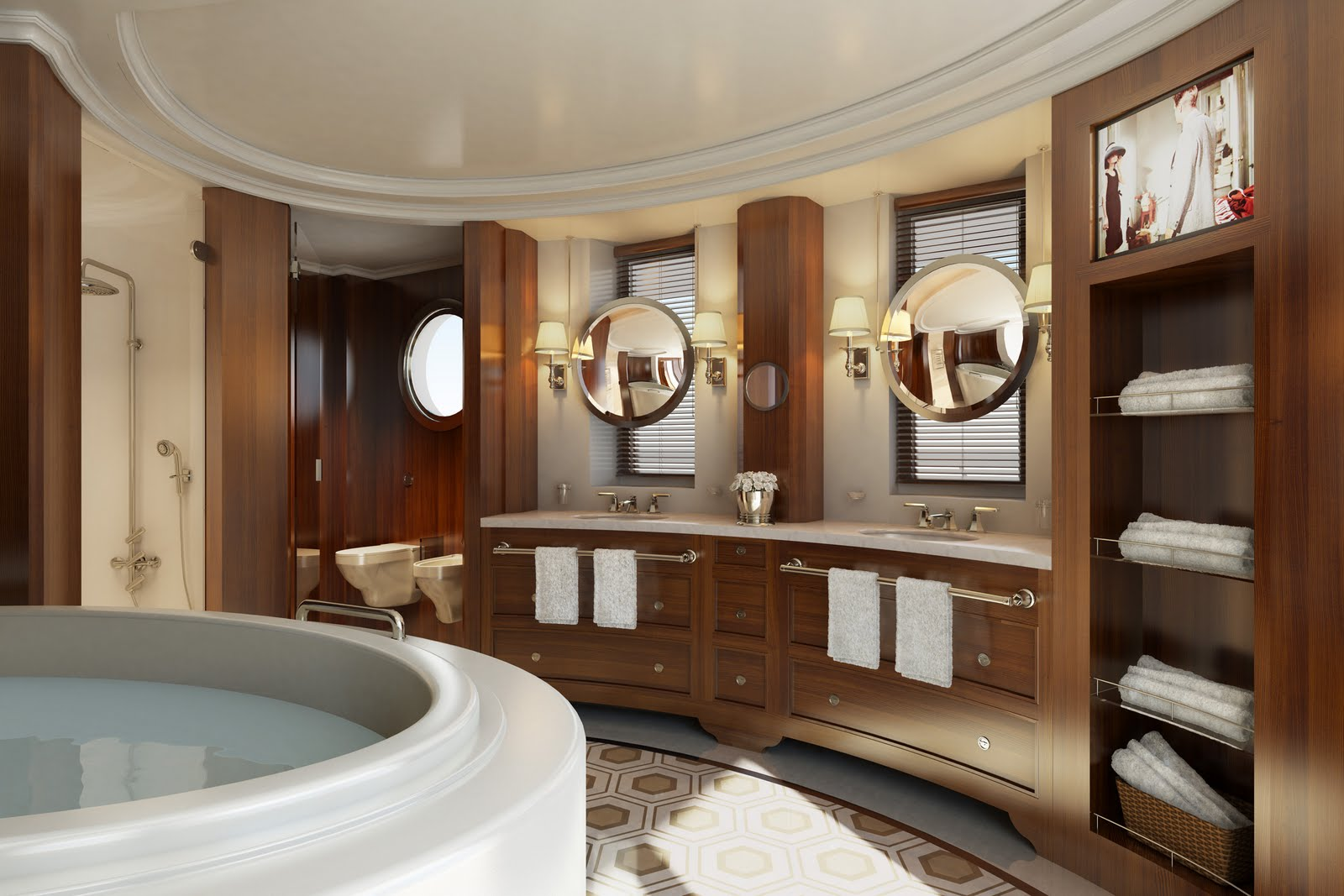 Mighty lists 10 gorgeous bathrooms - Luxury bathroom designs with stunning interior ...