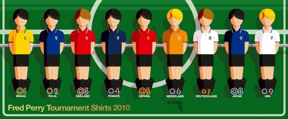 gaouromouttaros fred perry tournament shirts for world cup. Black Bedroom Furniture Sets. Home Design Ideas