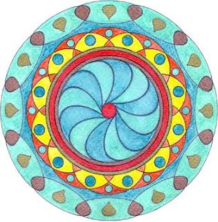 Atelier de feng shui c mo colorear un mandala for Cuadros mandalas feng shui decoracion mandalas