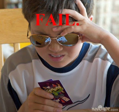 young poker player fail