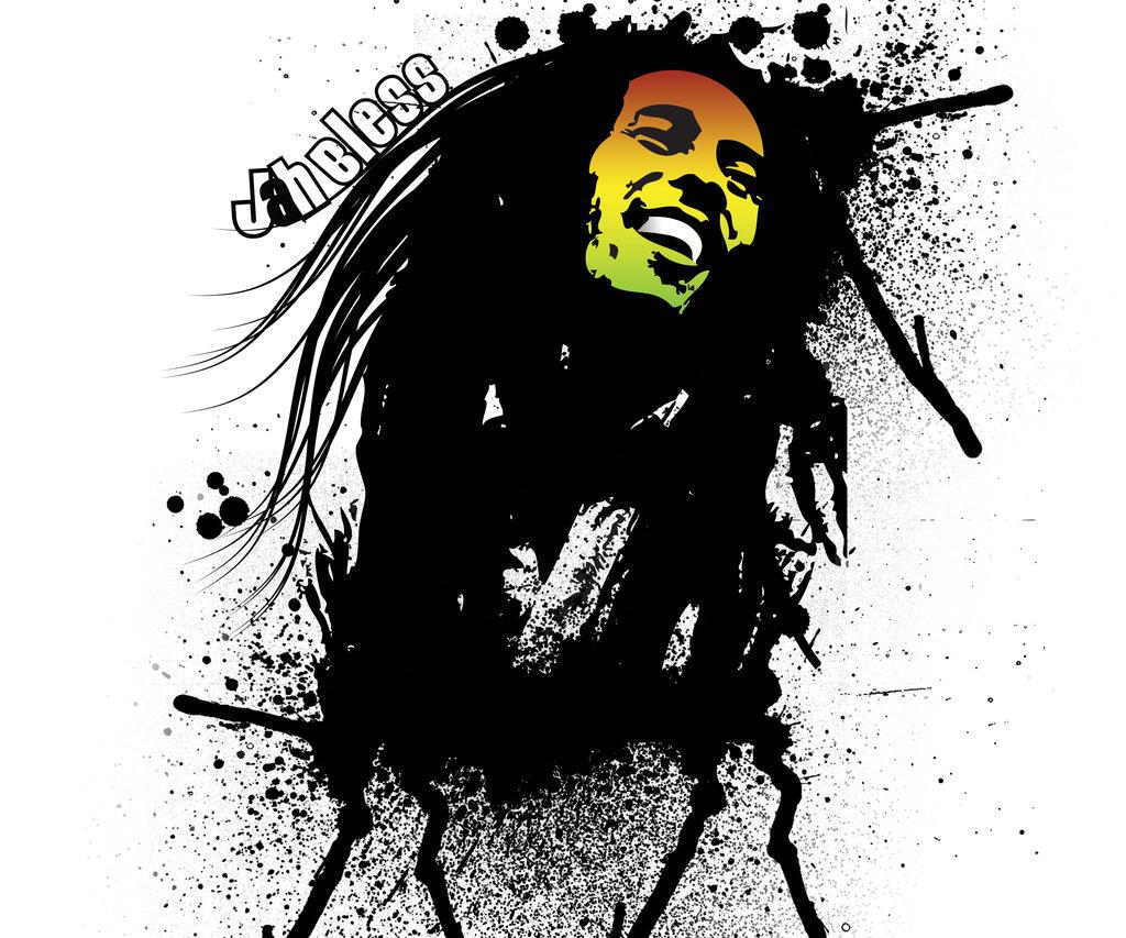 Bbrichardsonart Retro People gtgt Bob Marley Wallpaper
