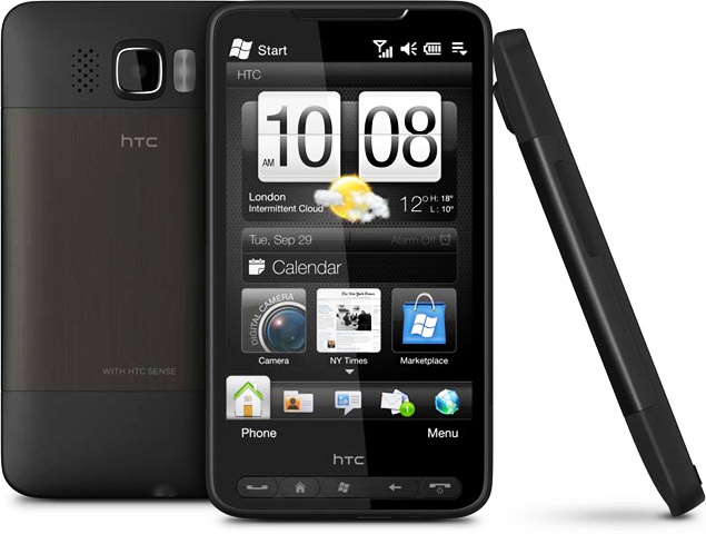HTC HD2 launched in India