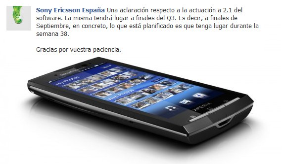 Sony Ericsson Xperia X10 to feature Android 2.1, Xperia X10 Android 2.1 smartphone features