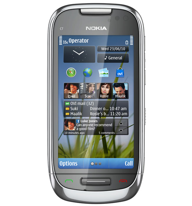 Nokia C7 Symbian^3 Smartphone Launched in India