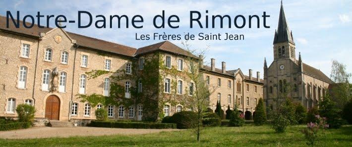 Les Frères de Saint Jean - Notre Dame de Rimont