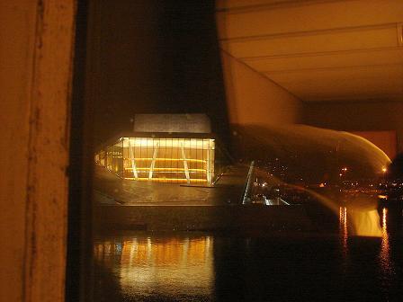 Ópera de Oslo desde camarote MS Innvik