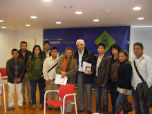 EL NUEVO EMBAJADOR DEL PERU EN ESPAÑA  CON COLECTIVOS PERUANOS EN GALICIA